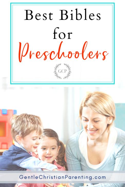 best childrens bible - preschoolers