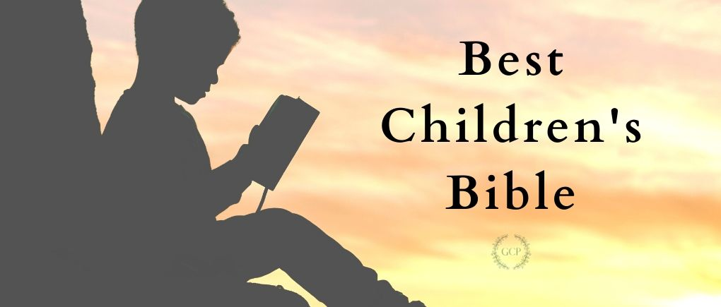 image of child reading best children's bible