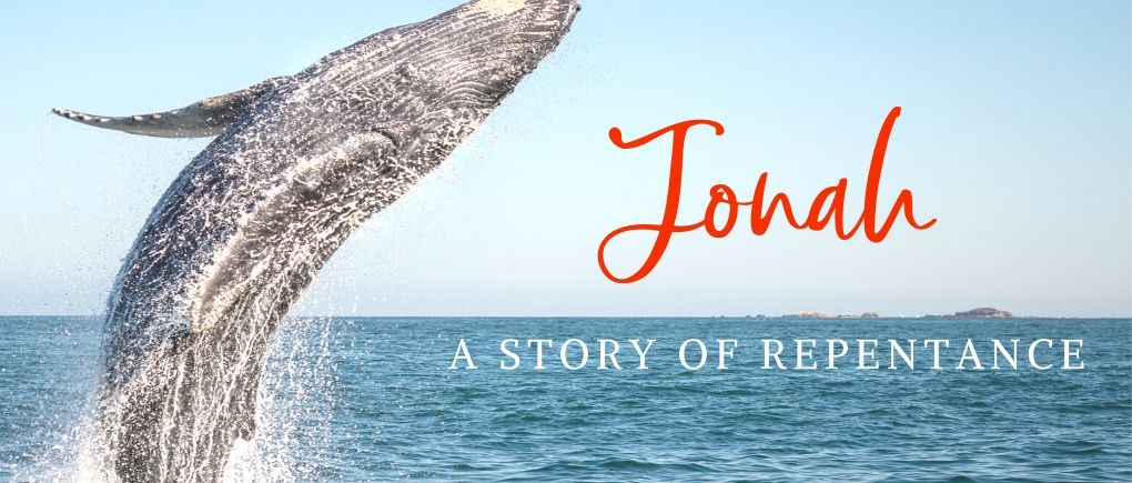 image of a whale and Jonah - the true meaning of repentance