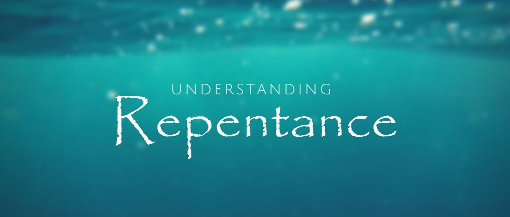 image of water and the true meaning of repentance