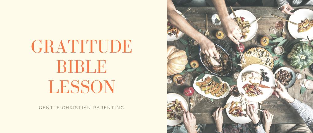 image of gratitude bible lesson