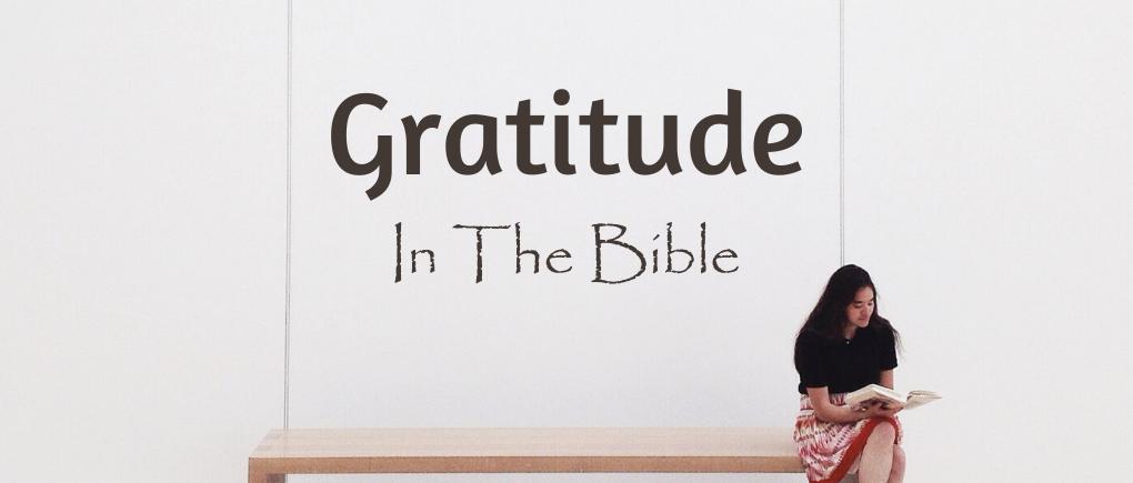 gratitude in the bible