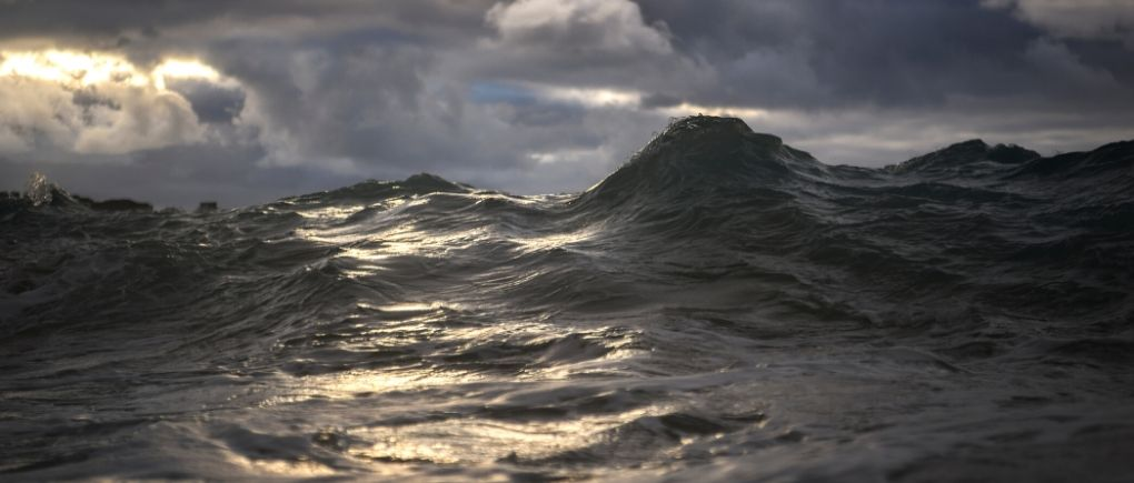image of the sea - remember God is in control