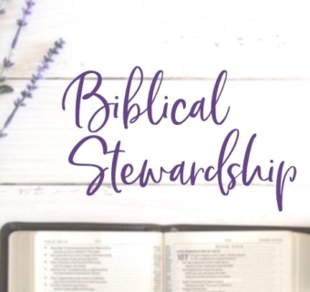 What It Means to Be a Good Steward with Examples from the Bible