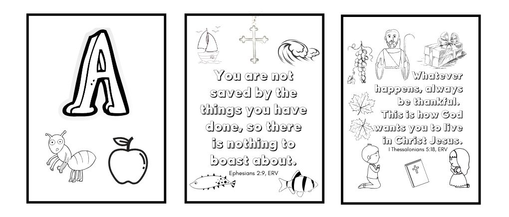 Free Bible Coloring Pages For Kids - Download Now - Gentle Christian  Parenting