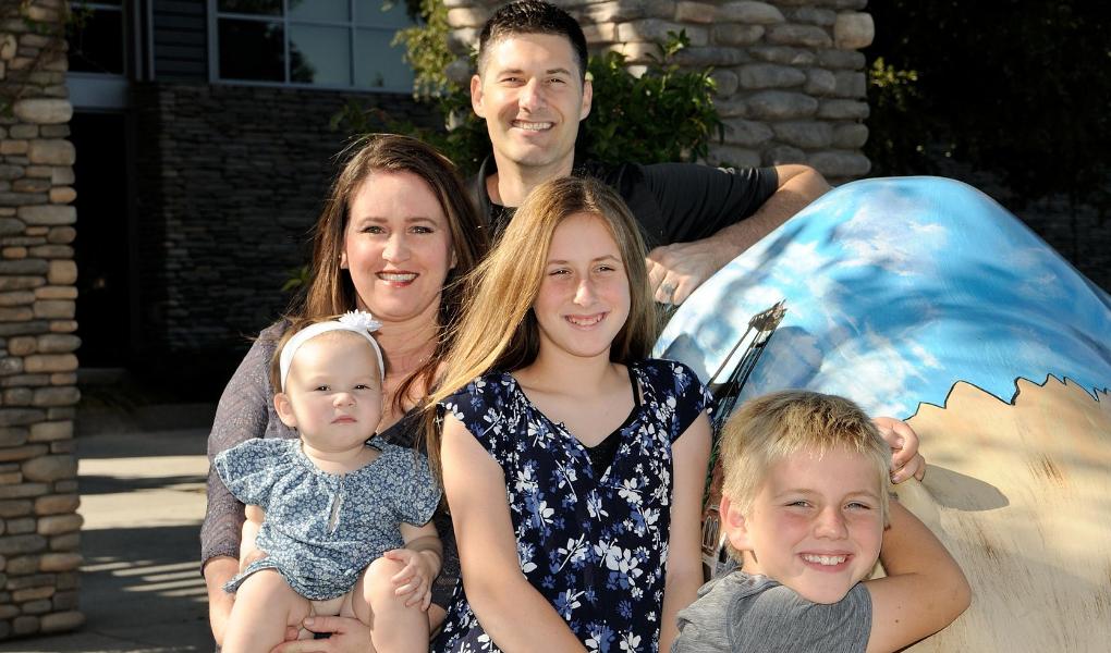 Christina Dronen and family