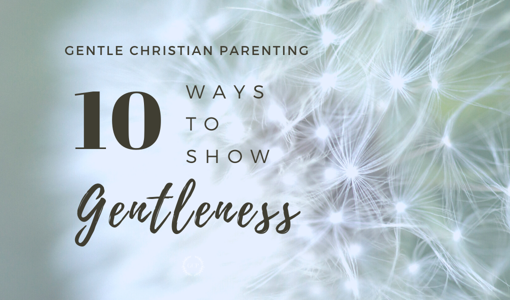 10 ways to demonstrate gentleness bible study