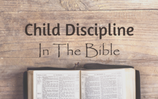 image of child discipline in the bible